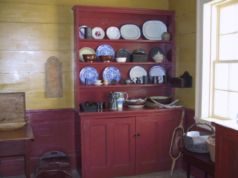 Cabinet in Kitchen at Cape Spear Historic Lighthouse