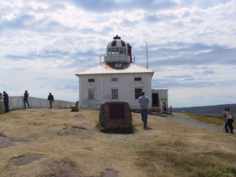 Cape Spear is the most eastern point on the continent.