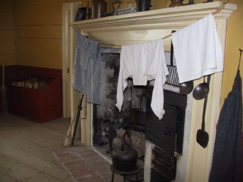 hearth for drying clothes