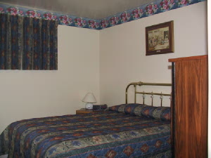 this two bedroom suite has one double size bed and one king size bed