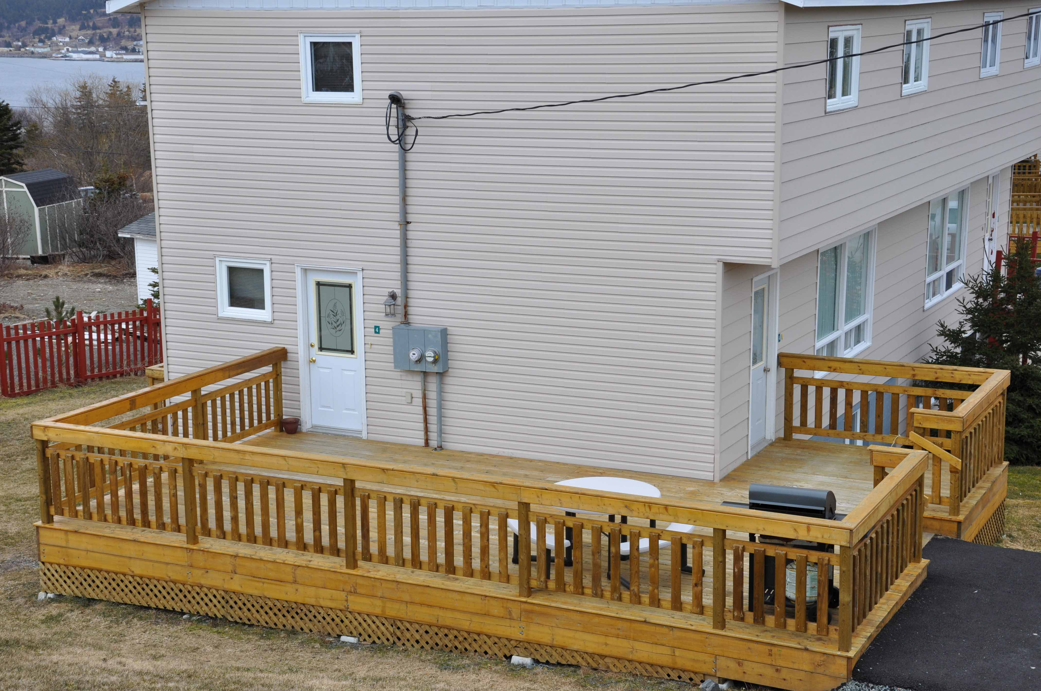 Here is a three bedroom in Holyrood at Comerford's Ocean View Suites